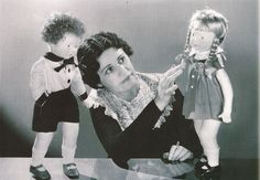 Beatrice Alexander (1895-1990) - The First Lady of Doll Making was a first generation American. In 1895, the year she was born, her Russian immigrant father opened the first doll hospital in America. One of the by-products of World War I was an embargo on porcelain dolls. Determined to survive, Beatrice began to create Red Cross Nurse dolls out of muslin, stuffed with excelsior to be sold in her father's hospital shop. Then in 1923 The Alexander Doll Company was born.