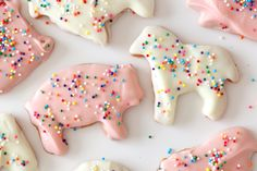Frosted Animal Cookies Recipe on http://bakingthegoods.com