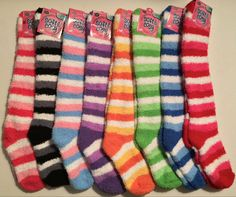 Knee high fuzzy socks!!!