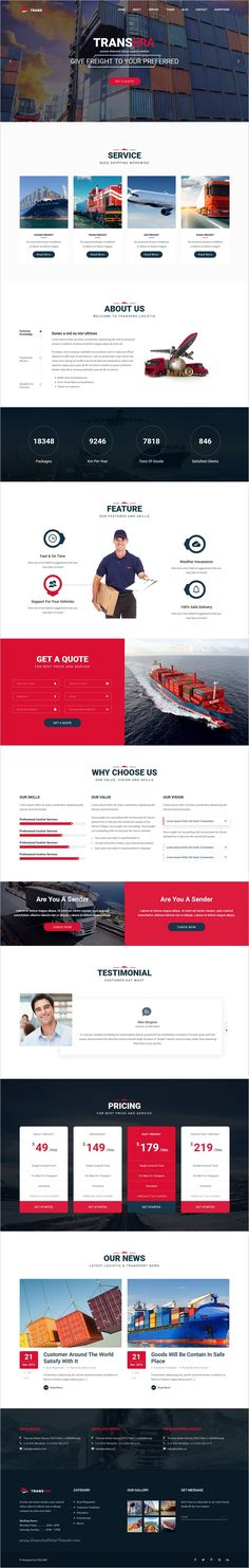 Transera is a stylish, versatile & powerful 3in1 #WordPress Theme for transportation, #logistics, cargo, truck, mover, warehouse, #delivery, shipping, #freight services website download now➩ https://themeforest.net/item/transera-transportation-logistics-wordpress-theme/19058349?ref=Datasata