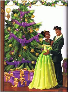 """The last story from this beautiful book, featuring Tiana and Naveen :) """"Aurora's Homemade Holiday"""" """"The Holiday Treasure Hunt"""" (Ariel) """"A Perfect Party"""" - (Cinderella ) Amazon linkage ( A Royal Christmas ) EDIT: The post has moved to here I forgot to put in the title…"""