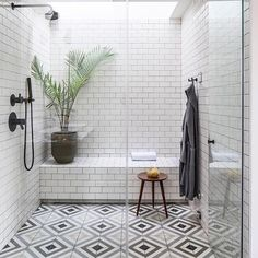 The Basics of Bathroom Remodel Tile Design Trends You must deal with the tile ideas also for making the restroom decoration complete. Shower Floor, Shower Storage, Shower Tile, Gorgeous Bathroom, Restroom Decor, Bathroom Remodel Tile, Flooring, Bathrooms Remodel, Tile Remodel