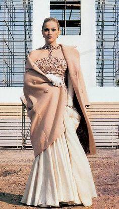 Madonna's sparkling white gown in Evita.