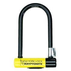 Kryptonite New York Standard Bicycle U-Lock with Bracket ( 4-Inch x 8-Inch) --- http://bizz.mx/d8z