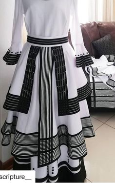 Xhosa traditional outfits