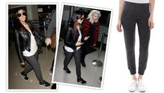 ASO kourtney kardashian Nation Ltd Calgary Pant in Black