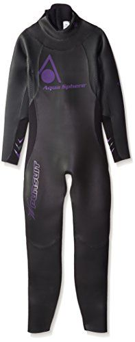 Aqua Sphere Womens Powered Pursuit Wet Suit BlackPurple Medium * You can find out more details at the link of the image. This is an Amazon Affiliate links.