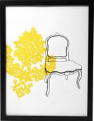 yellow and damask. two of my favourite things.....,