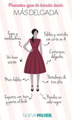 Elegir las prendas correctas puede hacer que pierdas unos kilos extra instantáneamente. Si quieres saber más sigue leyendo...