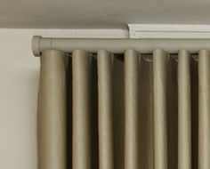 Wave curtain track - The Bradley Collection Curtain Styles, Curtain Ideas, Window Coverings, Window Treatments, Wave Curtains, Curtain Headings, Drapery, Sewing Ideas, Track