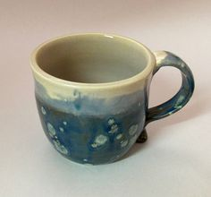 Handmade Pottery Mug by LivingWaterPottery on Etsy