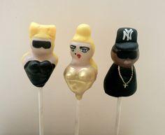 Cakestars - LadyGAGA, Madonna and JayZ by Gingercups