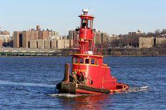 LITTIE BEAR Tug Boat, Hudson River, Edgewater, New Jersey