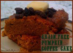 grain free pumpkin coffee cake