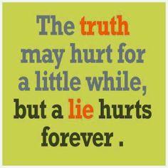 Rhonda Smith - Google+ - Little Lies Can Hurt Forever A little white lie never hurt…