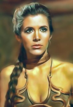 Star Wars Trivia, Star Wars Mädchen, Leia Star Wars, Star Wars Facts, Star Wars Girls, Slave Leia Art, Princess Leia Slave, Star Wars Luke Skywalker, Stargate