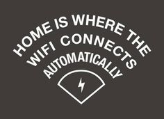 home and wifi