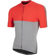 Nalini Mantova Short Sleeve Jersey - Red/Grey: Image 01