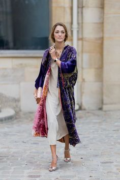 Super how to wear kimono in winter boho style Ideas Look Kimono, Style Kimono, Kimono Top, Kimono Duster, Duster Coat, Fashion Week, Look Fashion, Fashion Outfits, Fashion Trends