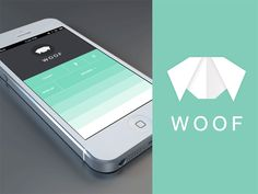 Dribbble - Woof App + Icon + GIF by Balraj Chana #UImotion