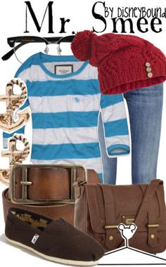 Mr. Smee by Disney Bound  Fashion Disney Outfit  Peter Pan