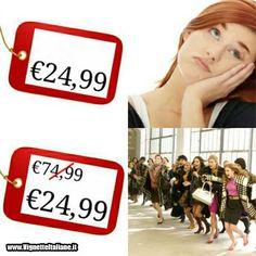 #Vignetta #immagine #divertente #saldi #donne #sconti