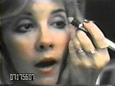 Fleetwood Mac - Backstage In Japan 1977 Part 3 - YouTube // Stevie Nicks makeup circa 1977