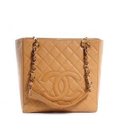Chanel caviar beige petite shopper tote  excellent condition with dustbag  gold hardware  asking $1280  comment for more information or to purchase this item