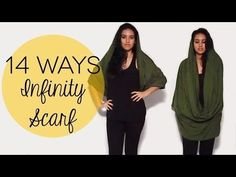 How to Wear an Infinity Scarf 14 Ways