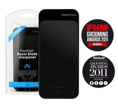 Razor blade sharpener & Life Extending Razor Cleaner - Get RazorPit ®