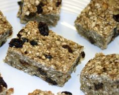 """Make yummy banana oat bars and learn why the """"Eat to Live"""" diet wins for health and weight loss: See the article for details: http://www.examiner.com/article/best-diet-for-health-weight-loss-dr-fuhrman-s-eat-to-live-sample-recipe"""