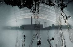 Tate Modern solargraphy from Upper Thames St, London 2009.  Diego López Calvín Solarigrafía: Google+