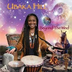 Ubaka Hill - the chair person for the Million Women Drum Gathering. It's going to be a great event.