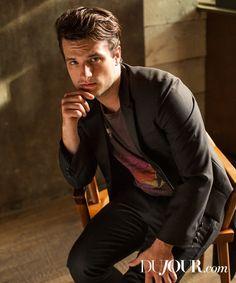 Josh Hutcherson Stars in DuJour Shoot, Talks Final The Hunger Games Movie