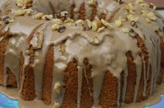 Maple Walnut Pound Cake-will try it with black walnuts