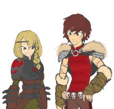 Clothes swap yup it has been confirmed Hiccup looks good in everything