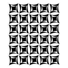 Silk Screen, Squares Inside Squares, No. 130. $15.00, via Etsy.