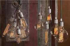 Braided Wire Edison Bulb Pendant Lamp Suspension Light
