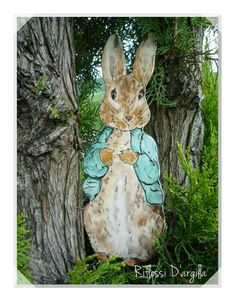 Omaggio a Beatrix Potter #rabbiart #beatrixpotter #ceramic #handmade #creations