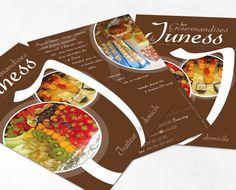 Flyer // Les Gourmandises de Juness
