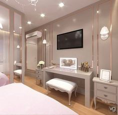 Modern Luxury Bedroom, Luxury Bedroom Furniture, Luxury Bedroom Design, Bedroom Closet Design, Home Room Design, Luxurious Bedrooms, Home Decor Bedroom, Bed Design, Living Room Tv Unit Designs