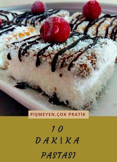10 Dk Pastası (Çok Pratik) Tarifi nasıl yapılır? 1.958 kişinin defterindeki bu tarifin resimli anlatımı ve deneyenlerin fotoğrafları burada. Yazar: ♡Hilal'in Mutfağı♡