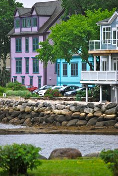 Mahone Bay House III O Canada, Canada Travel, Newfoundland Island, Lunenburg Nova Scotia, Atlantic Canada, Prince Edward Island, Quebec City, New Brunswick, Beautiful Architecture