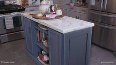 Como construir un mueble de cocina mueble isla ,mueble auxiliar para cocina .Crea tu propia isla de cocina personalizado .Dos simples gabinetes  sirven como núcleo de este mueble ,ahorrándole  tiempo de construcción de la isla