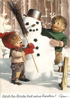 367 Auch der Winter hat seine Freuden!