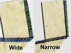 Possible Serger Stitches