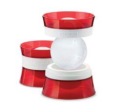 be0e8c51e3 stampo per ghiaccio a sfera ICE BALL di ZOKU Vassoi Per Cubetti Di  Ghiaccio