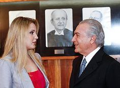 First Lady of Brazil Primeira-dama do Brasil Marcela Temer