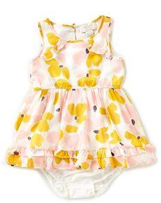 Kate Spade New York kate spade new york Baby Girls 12-24 Months Chiffon Ruffle-Hem Dress #babygirl, #katespade, #dillards, #promotion
