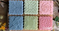 {From Scratch} Make Your Own Melt & Pour Soap Base - (From Scratch) How to Make Melt & Pour Soap Base - Laundry Detergent Recipe, Soap Making Kits, Make Your Own, Make It Yourself, Homemade Soap Recipes, Soap Base, Home Made Soap, Handmade Soaps, Nerdy